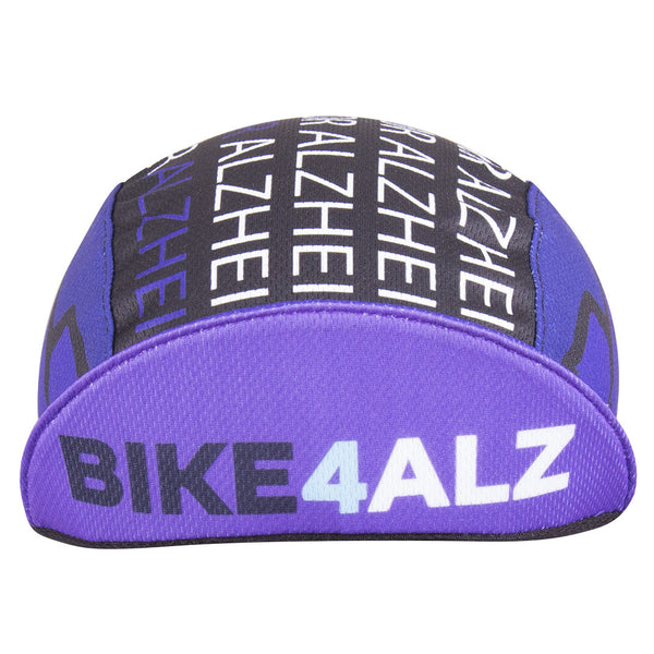 "Cap for a Cause - ""Bike4Alz"" Technical Cycling Cap"