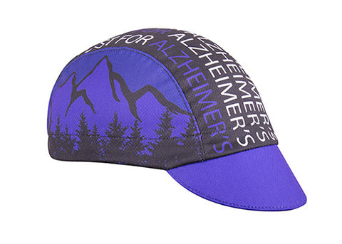 "Cap for a Cause ""Bike4Alz"" Technical Cycling Cap"