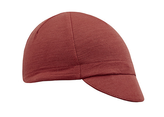 Flare Red Merino Wool 4-Panel