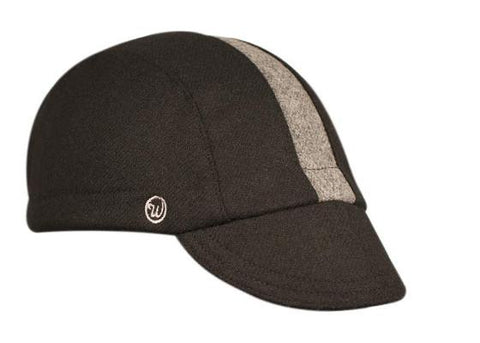 Black/Grey Wool 3-Panel