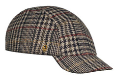 Velo/City Cap - Plaid Wool