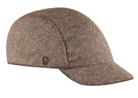 Velo/City Cap - Brown Tweed