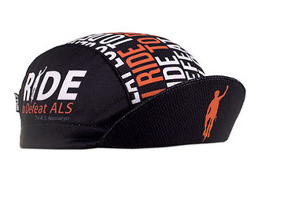 "Cap For a Cause - ""ALS"" Technical Cycling Cap"
