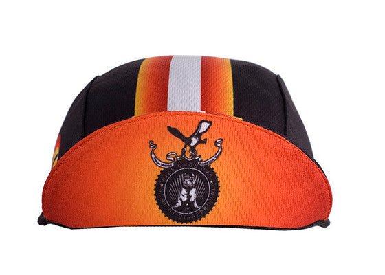 Bike Snob Black/Orange Moisture Wicking