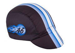 Bike Snob Black/Blue Moisture Wicking