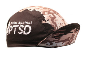 "Cap For a Cause - ""Pedal Against PTSD"" Technical Cycling Cap"