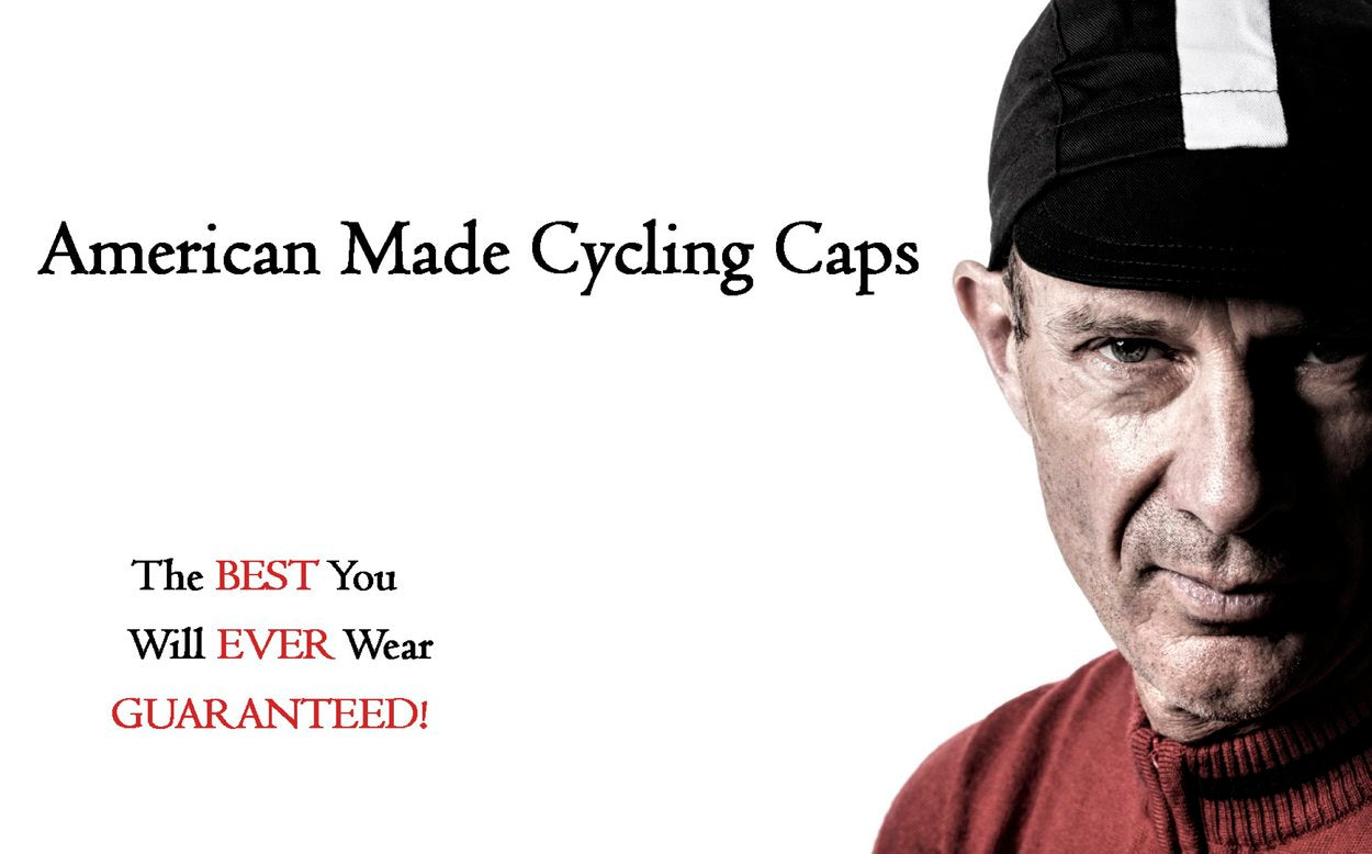 Technical Fabric Cycling Caps