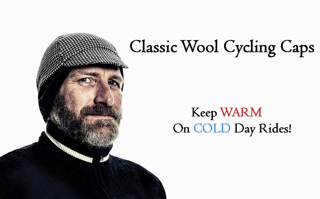Classic Wool Cycling Caps