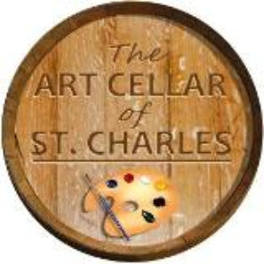 Jan 24, Sun, 2-5pm Dog Days Open Wine & Paint Class in St. Charles
