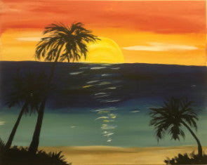 "Mar 17, Thu, 7-10pm ""On Holiday"" Open Wine and Painting Class in St. Charles"