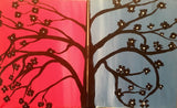 "June 24, Sat, 7-9pm ""Date Night Tree"" Open Wine and Painting Class in St. Charles"