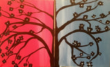 "Feb 14, Tue, 6:30-9pm ""DateNight Tree"" Open Wine and Painting Class in St. Charles"