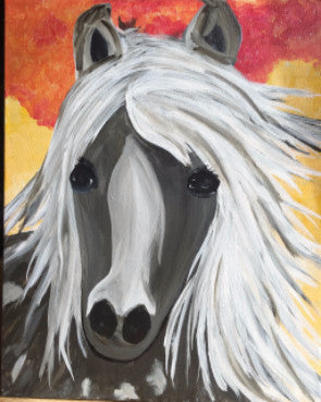 "May 29, Sun, 2-5pm ""Misty"" Open Wine and Painting Class in St. Charles"