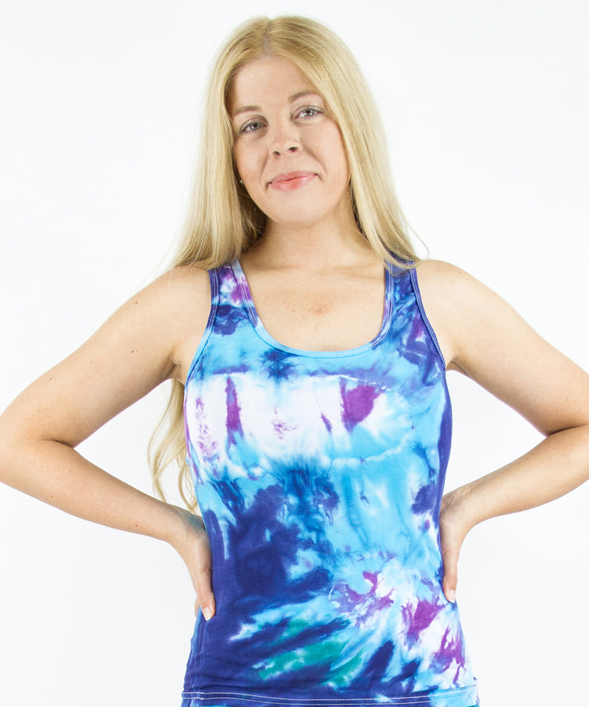 Load image into Gallery viewer, Aruba Tie Dye Tank Top