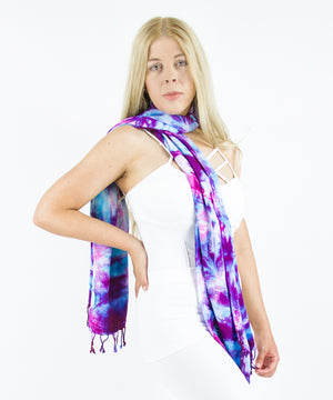 Load image into Gallery viewer, Portland Tie Dye Scarf