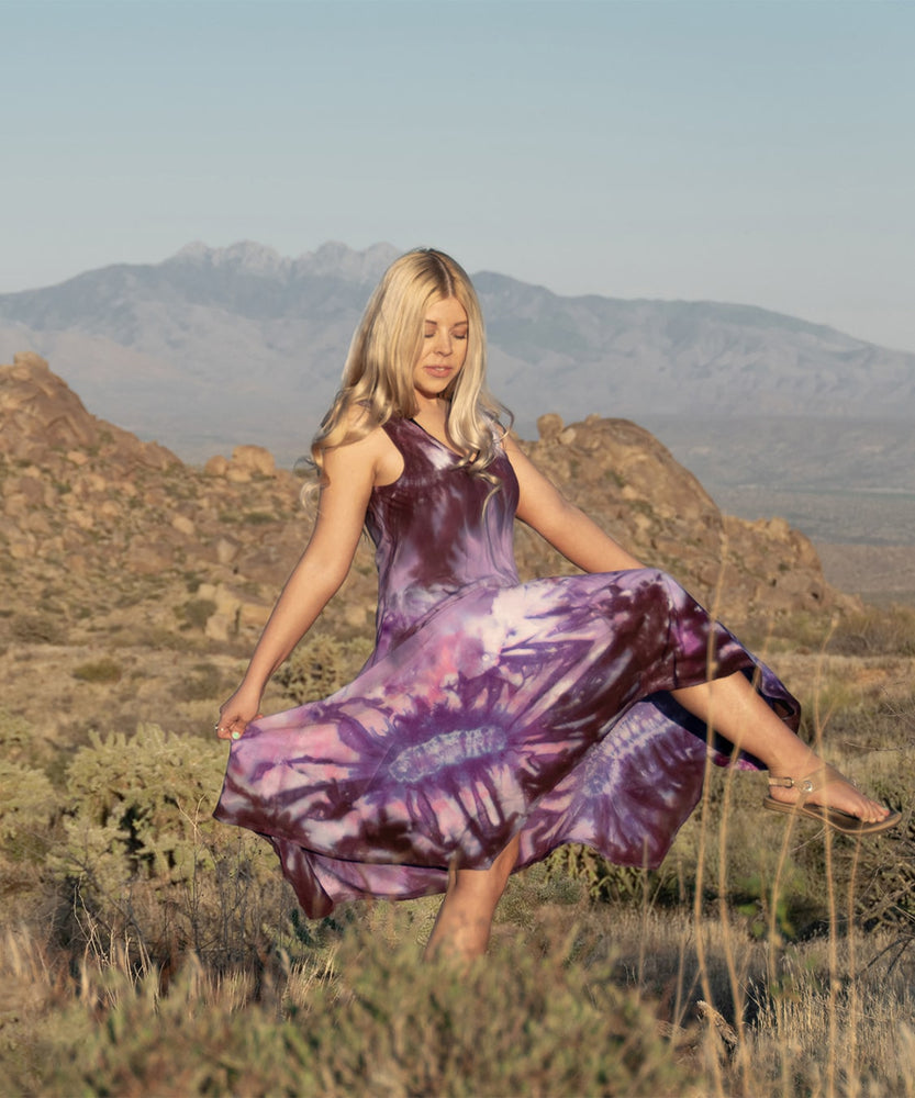 Load image into Gallery viewer, Liliana Tie Dye Dress