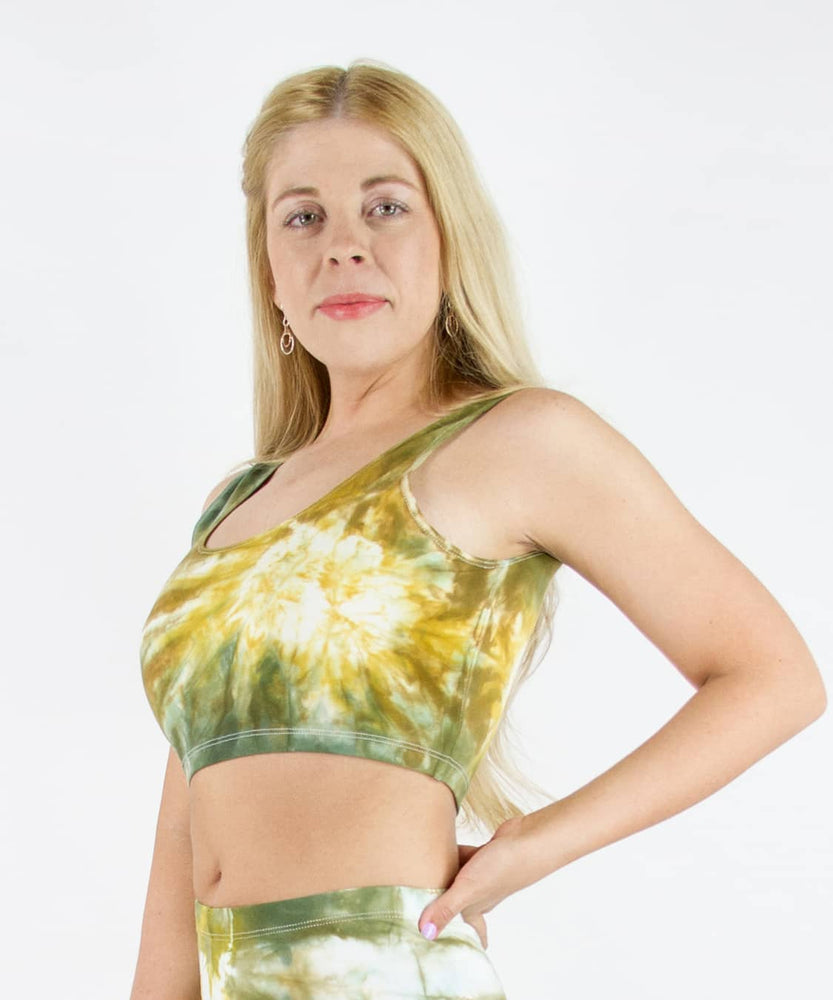 Load image into Gallery viewer, Moab Tie Dye Crop Tank