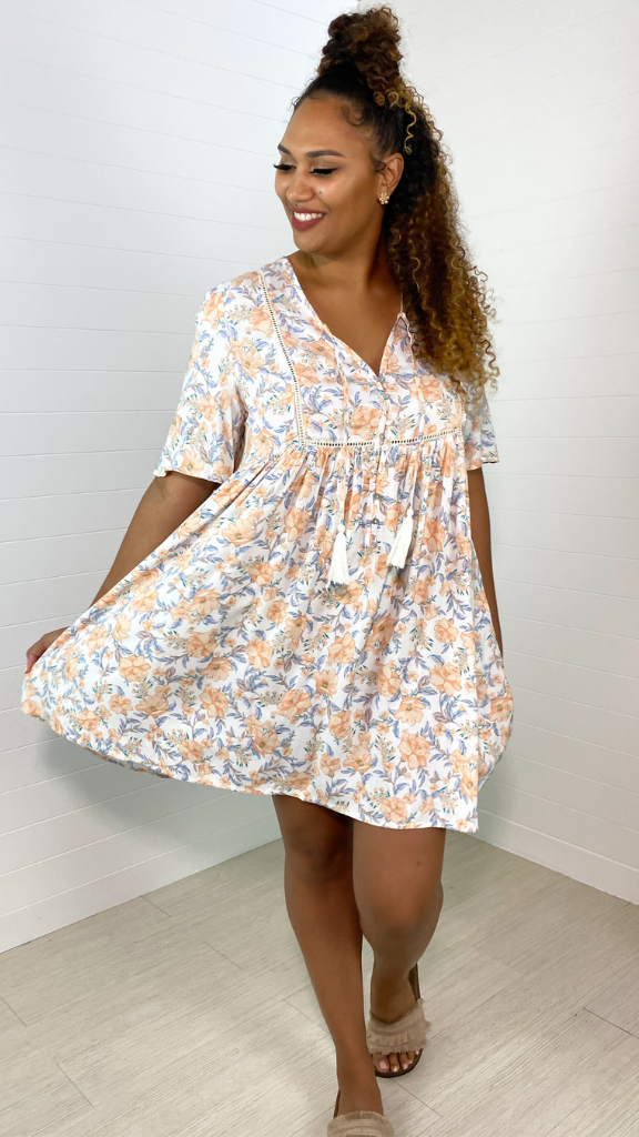 Santa Fe Babydoll Dress