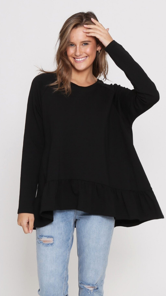 Mindy Long Sleeve (Black)