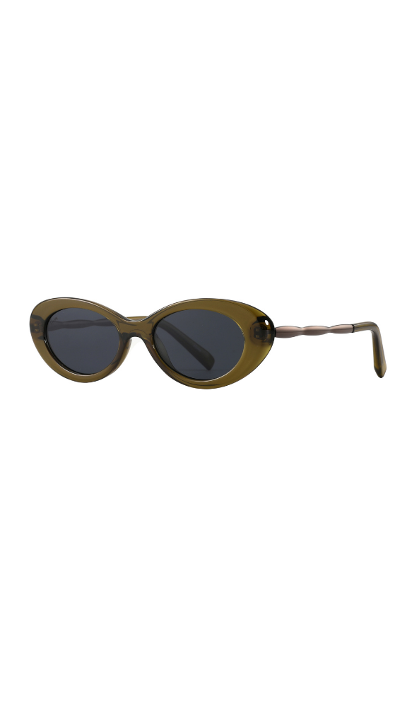High Society Sunglasses (Olive)