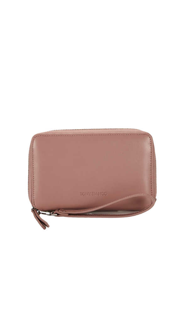 Ryder Zip Wallet (Blush)