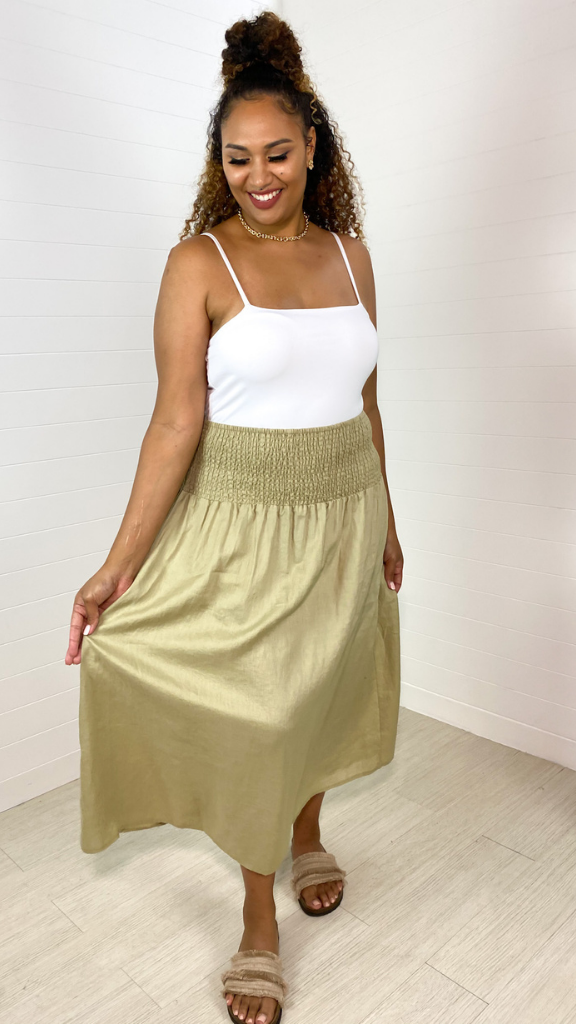 Artie Skirt/Dress (Olive)