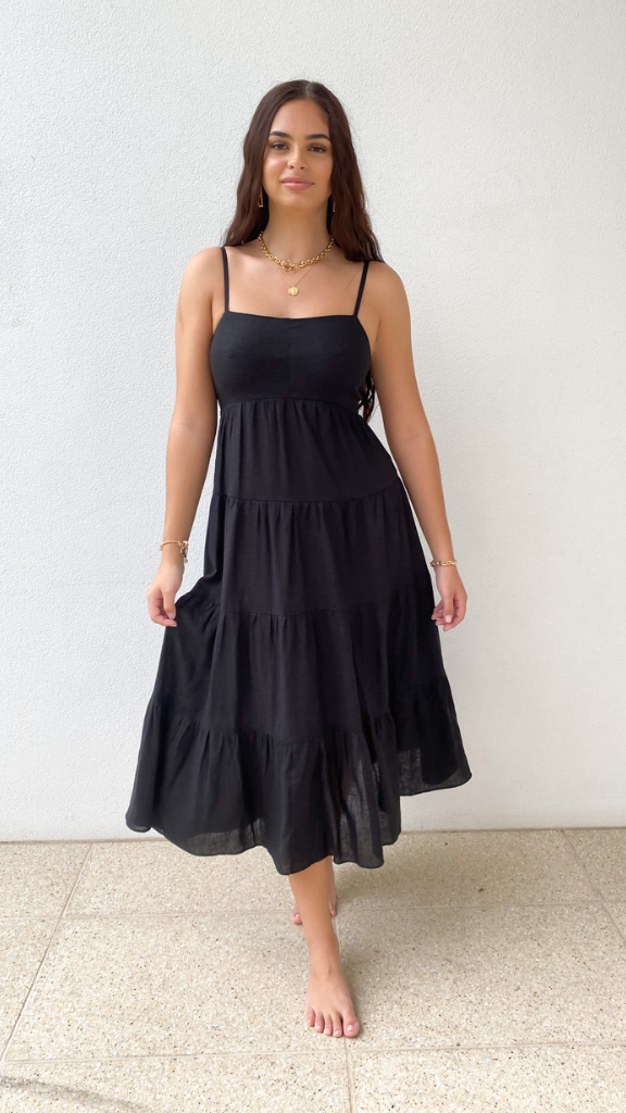 Emma Dress (Black)