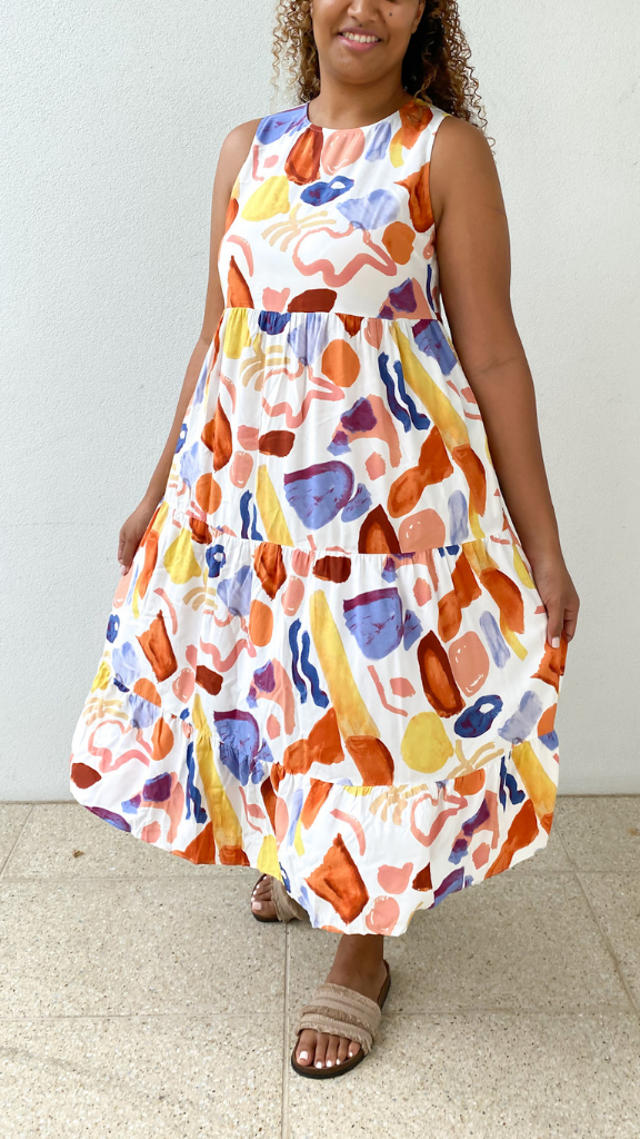 Long Time Dress (Tutti Frutti Print)