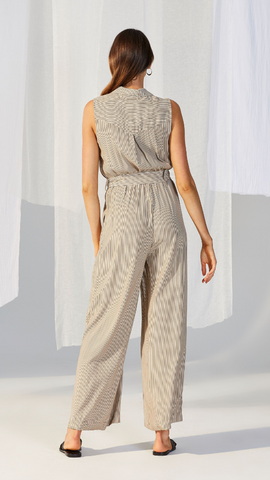 Gaia Belted Jumpsuit