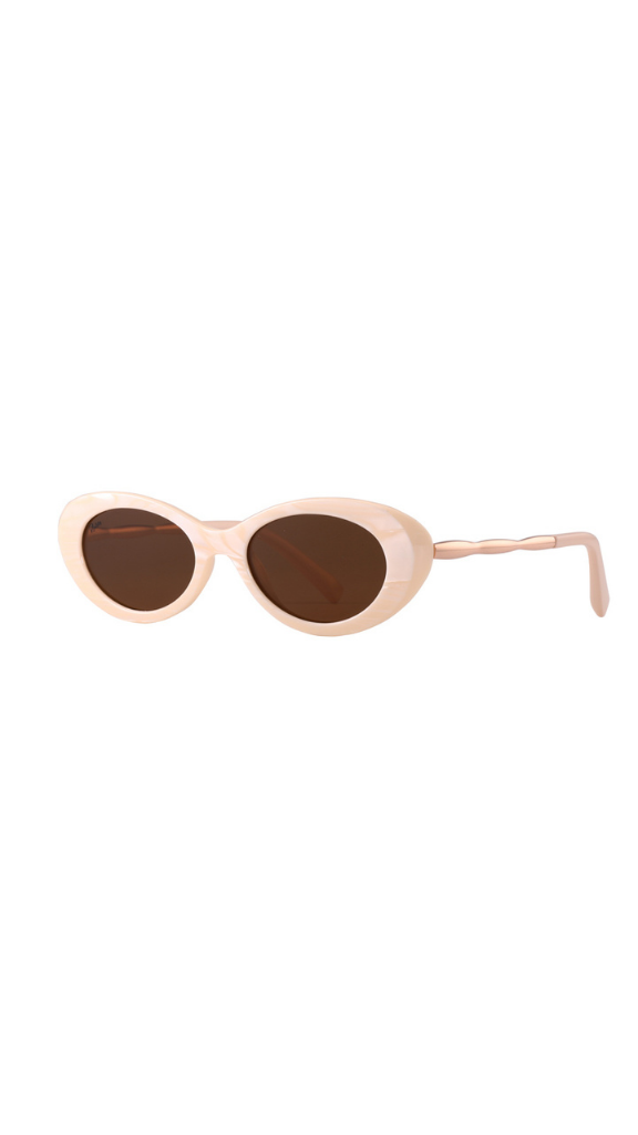 High Society Sunglasses (Beige)