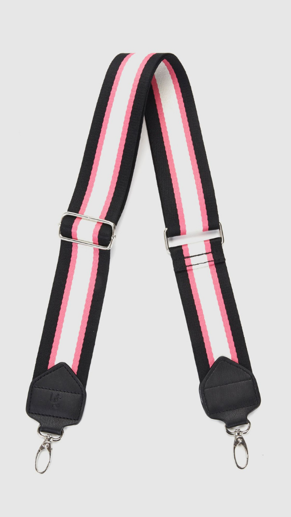 Fashion Bag Strap (Pink/Stripe)