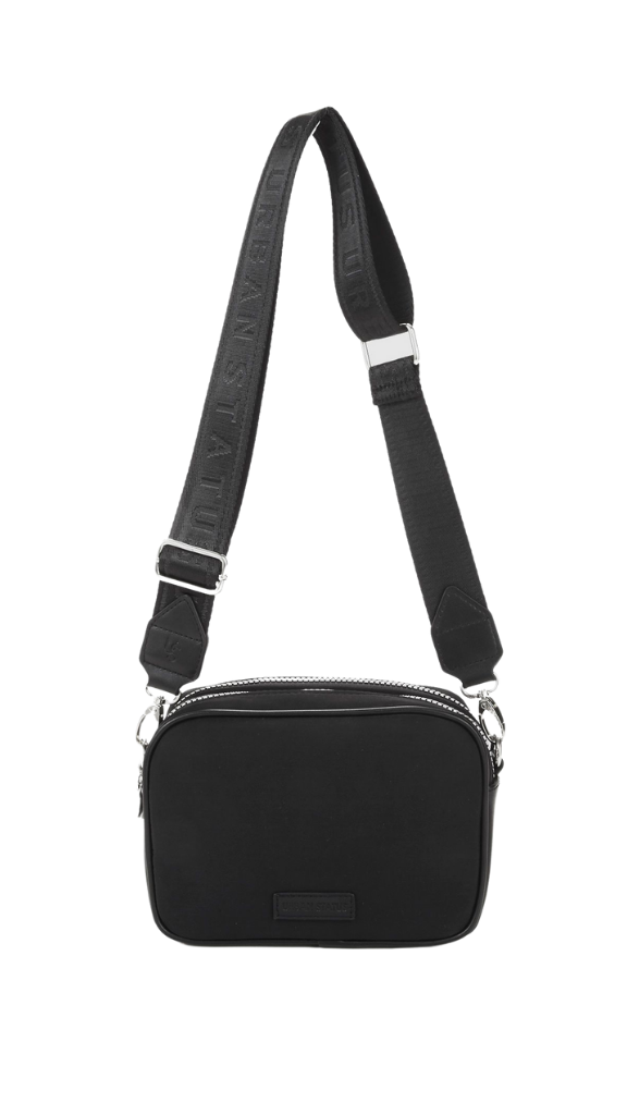 Henry Nylon Bag (Black)