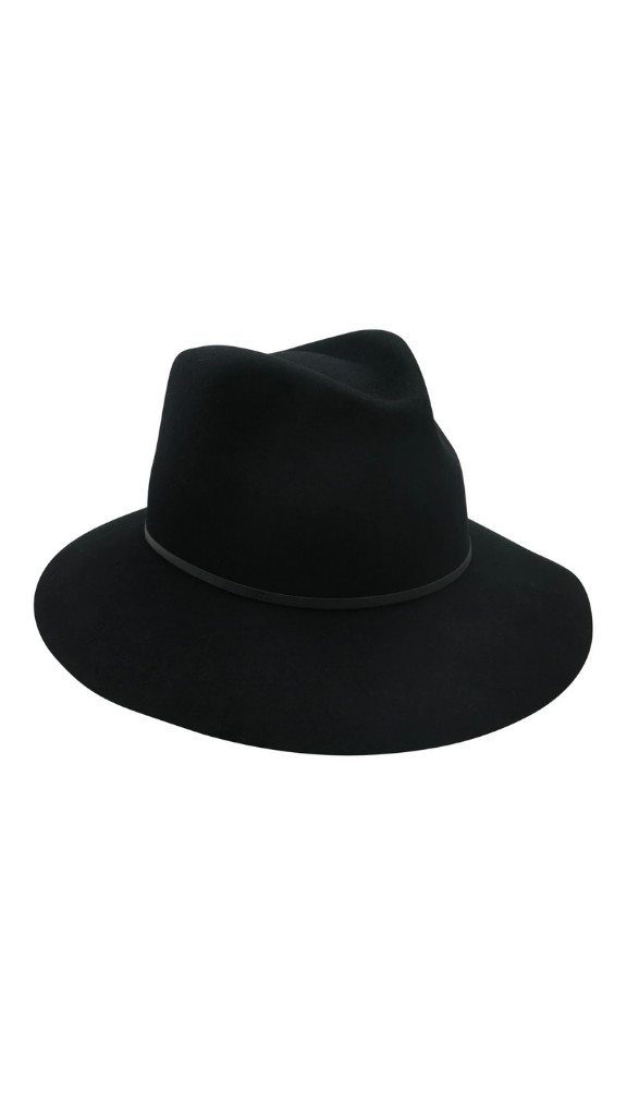 Splendour Black Fedora