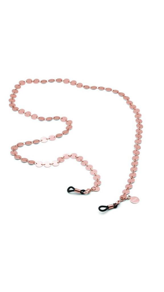 Circle Sunnies Chain (Rose Gold)