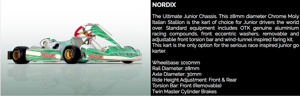 TONY KART NORDIX - Power Republic - Online Kart Shop - Gold Coast - Brisbane