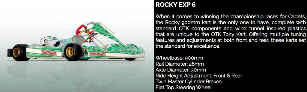 TONY KART ROCKY EXP 6 - Power Republic - Online Kart Shop - Gold Coast - Brisbane