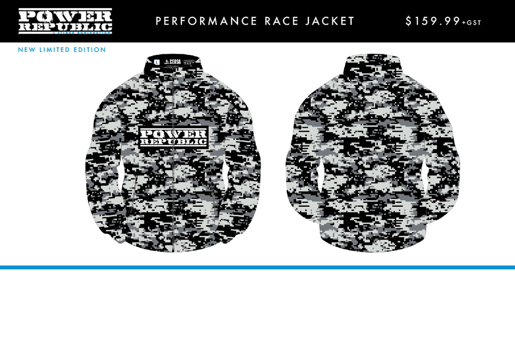 POWER REPUBLIC DIGITAL CAMO MENS JACKET - PRE-ORDER