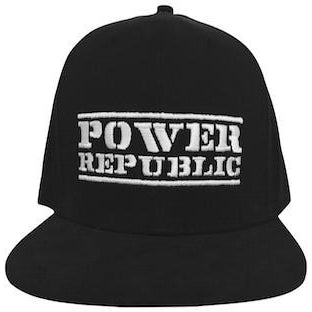 Power Republic Flat Peak Cap - Power Republic - Online Kart Shop - Gold Coast - Brisbane