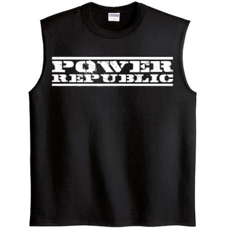 Power Republic Mens Muscle Tee - Power Republic - Online Kart Shop - Gold Coast - Brisbane