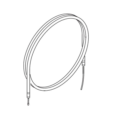 Rotax Max Dellorto Carburettor Throttle Cable - Power Republic - Online Kart Shop - Gold Coast - Brisbane
