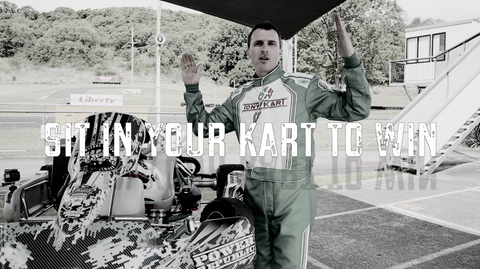 GO KART RACING RITUALS - EPISODE 1 - HOW TO SIT IN YOUR KART TO WIN