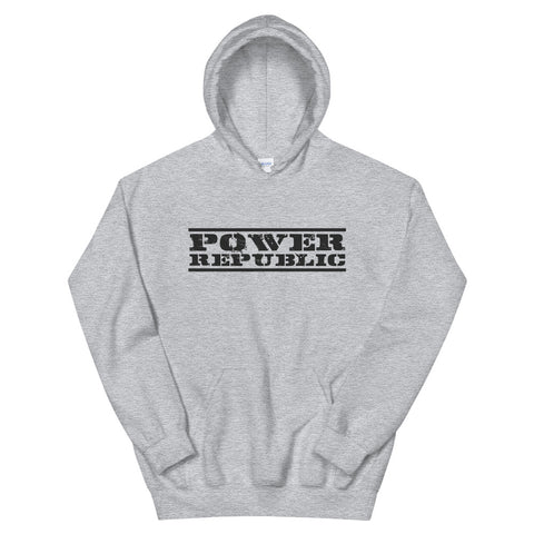 POWER REPUBLIC ORIGINAL LOGO UNISEX HOODIE