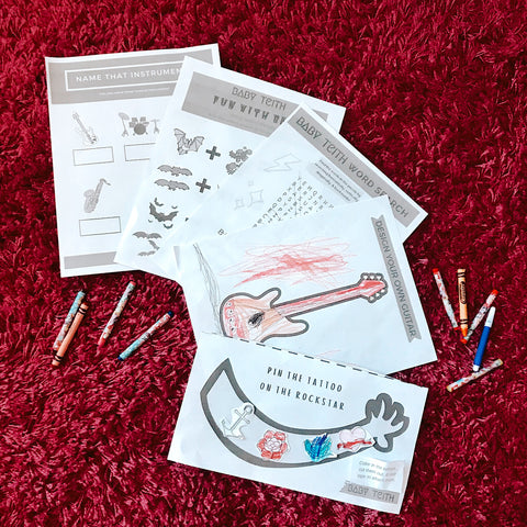 Free Printable Activities for Kids Inspried by Music