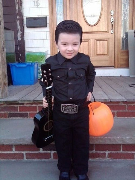 toddler johnny cash costume