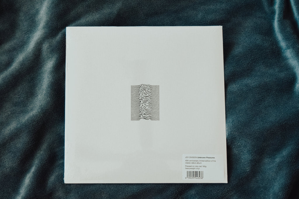 joy division 40th anniversary vinyl unknown pleasures