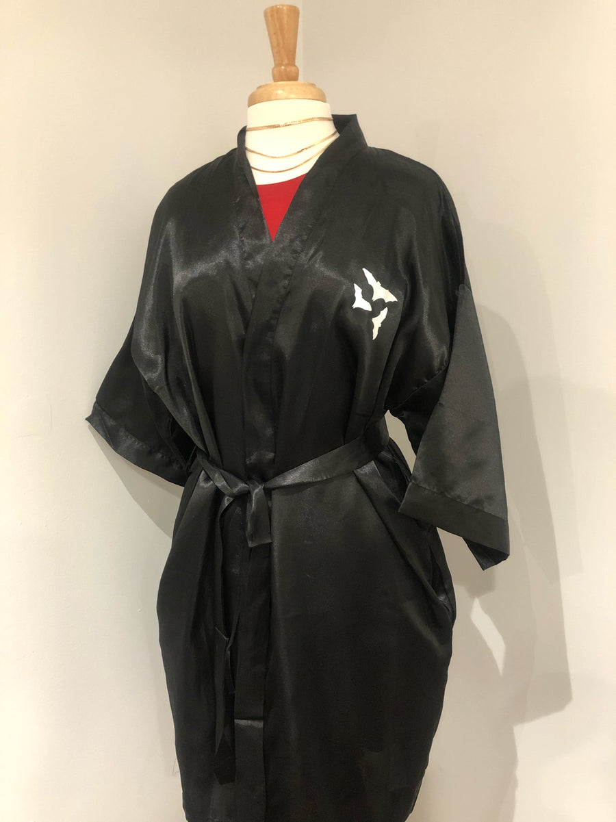 Mama Bat Satin Robe 2XL (As-Is #12)