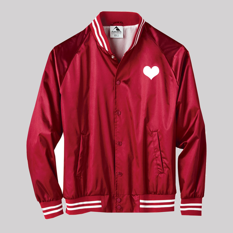 80's Love Songs Satin Unisex Jacket