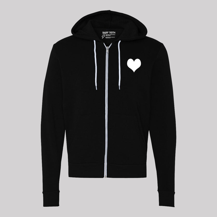 80's Love Songs Unisex Zip-Up Hoodie