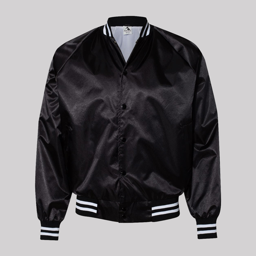 This Must Be the Place Satin Unisex Jacket
