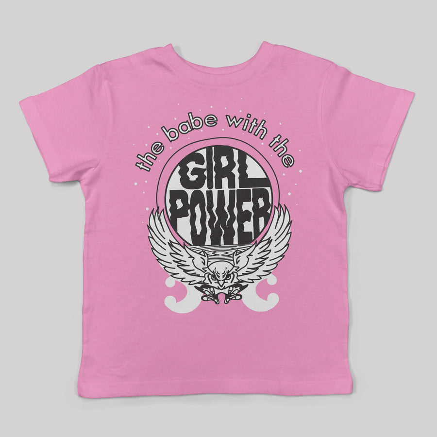 Babe with the Girl Power Tee for Kids